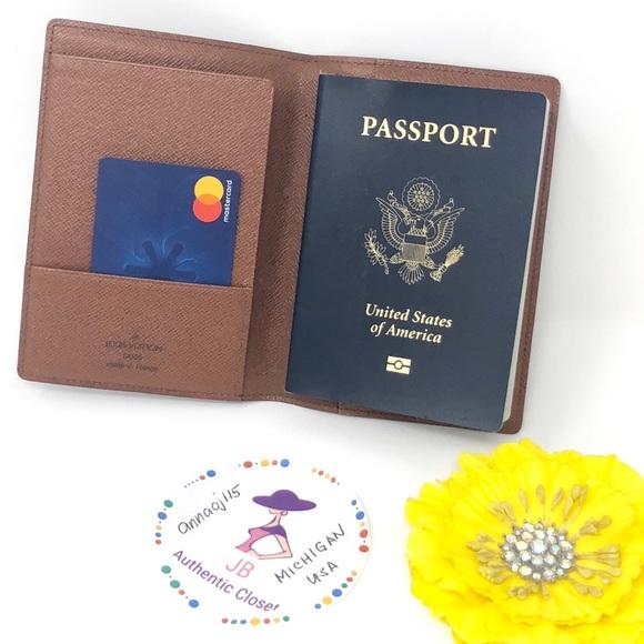 0164cf4e993 Louis Vuitton Handbags - Louis Vuitton Passport Holder (AUTHENTIC)